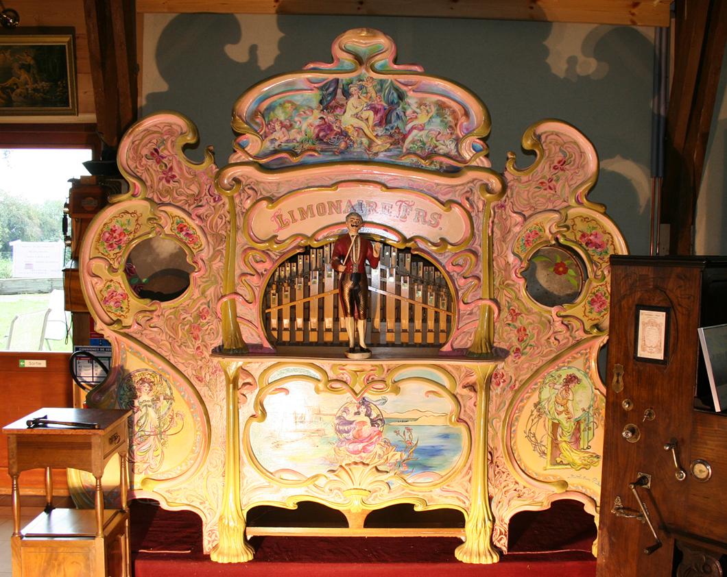 Ferme des Orgues. Musée de la Musique Mécanique